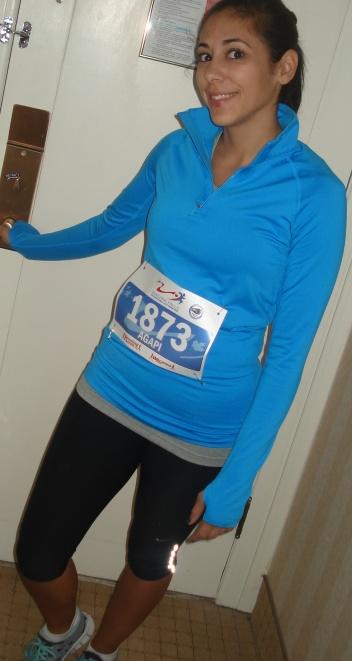 Niagra Falls Half Marathon, October 23, 2011